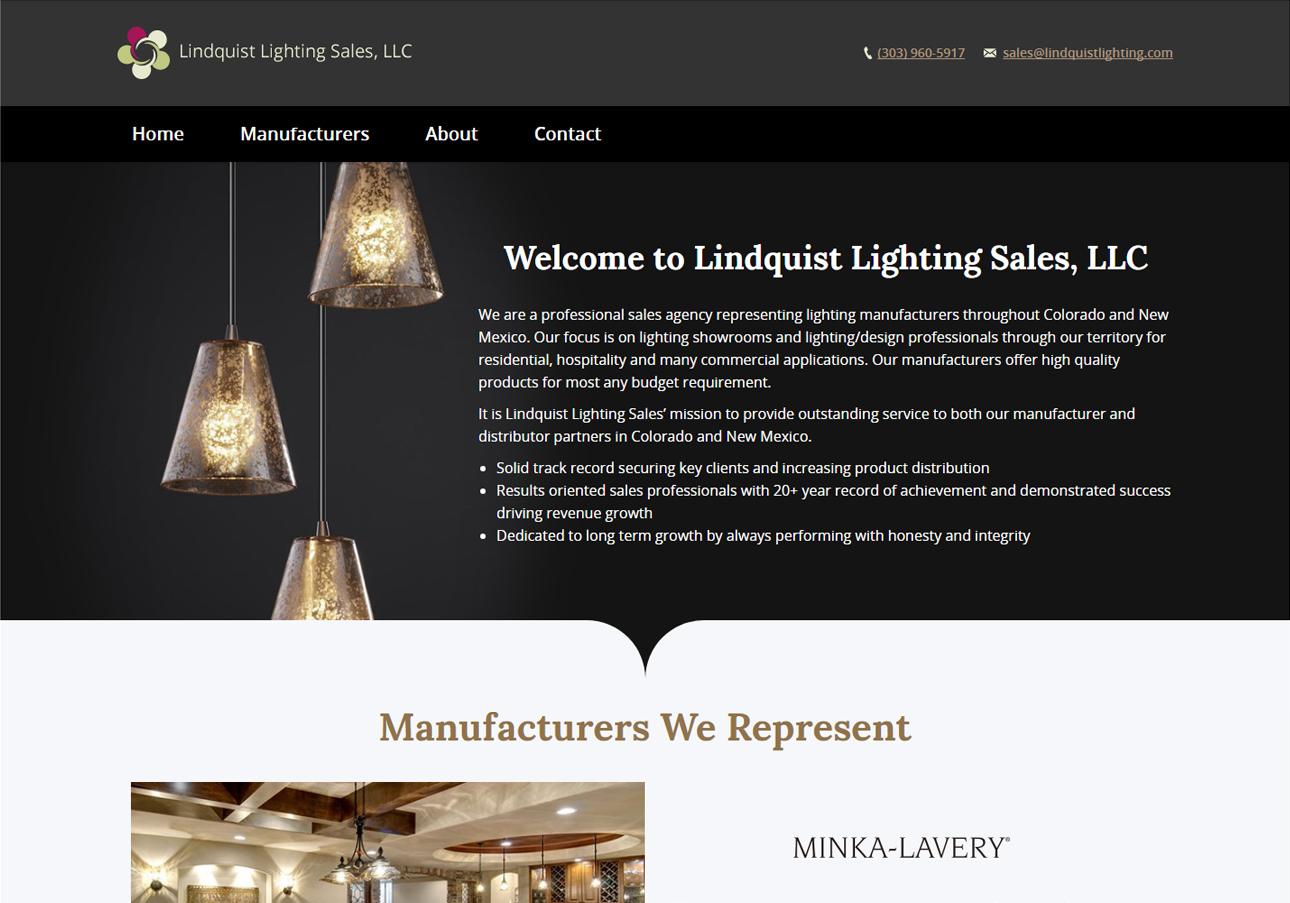 Myristol website bulldog graphics llc related projects lindquist lighting website aloadofball Gallery